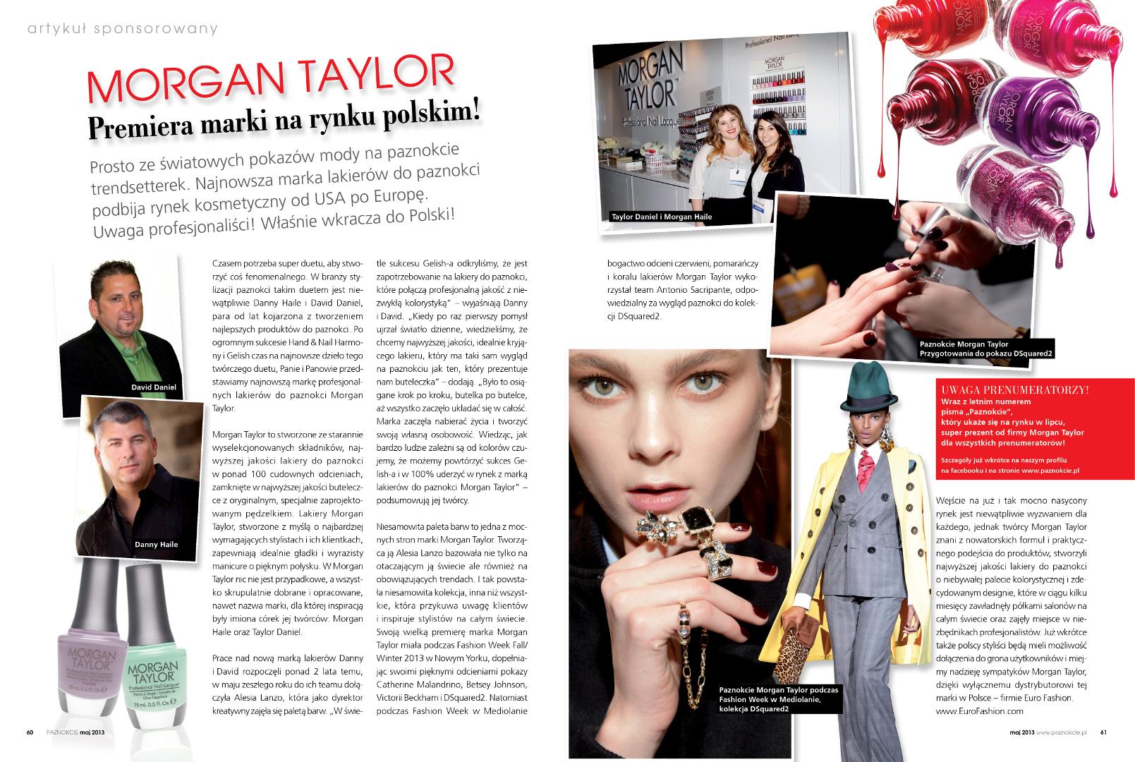 Publikacje Morgan Taylor